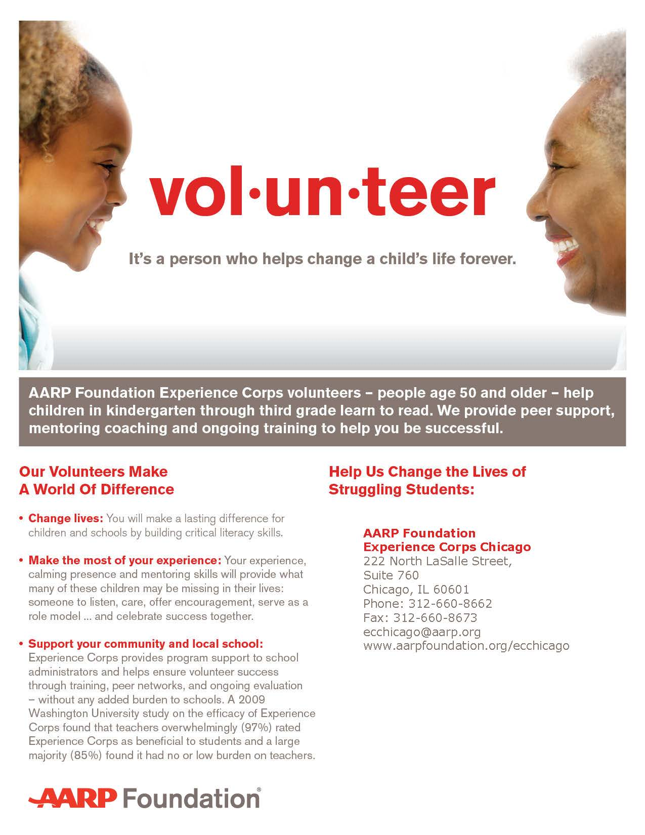 AARP Volunteering