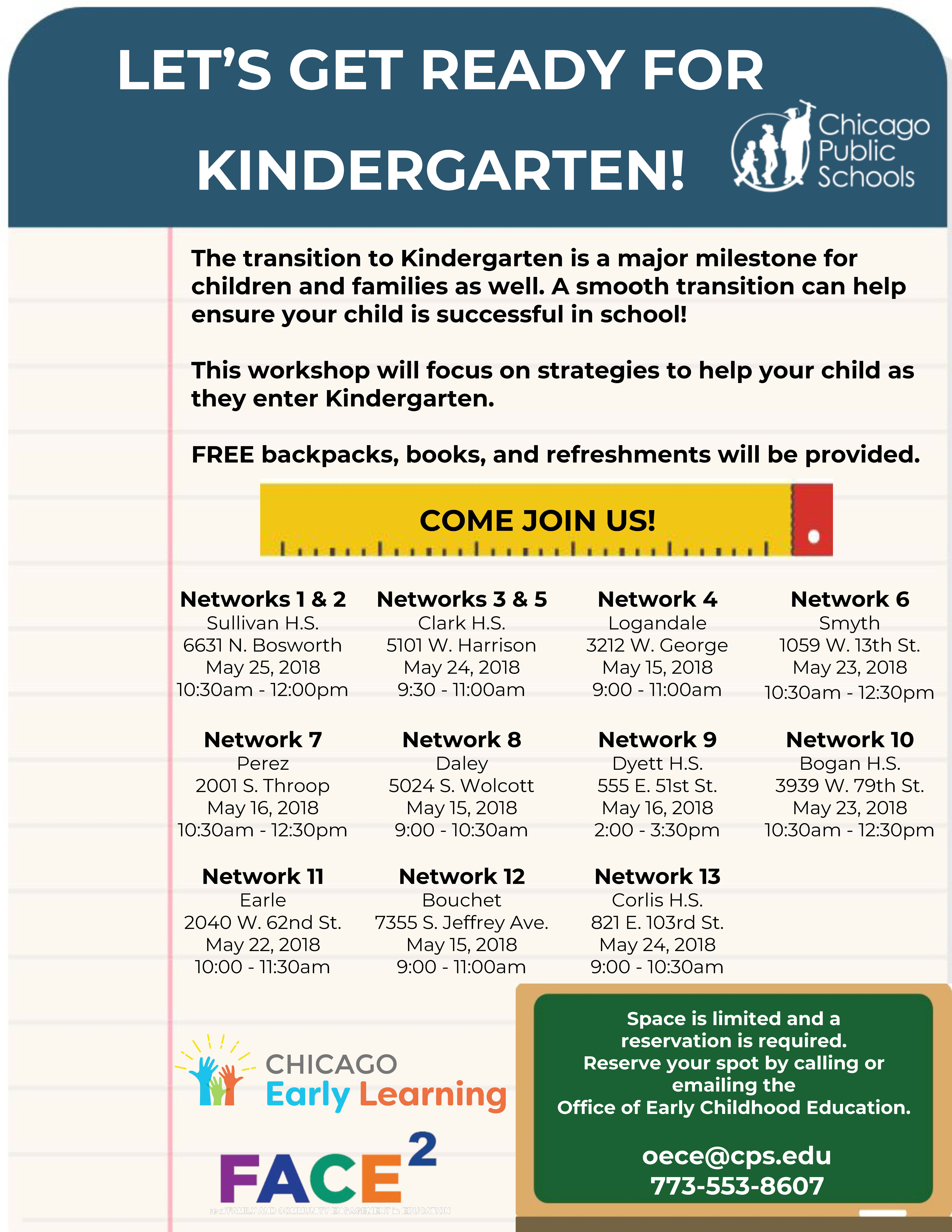 Lets Get Ready for Kindergarten Flyer Page 1